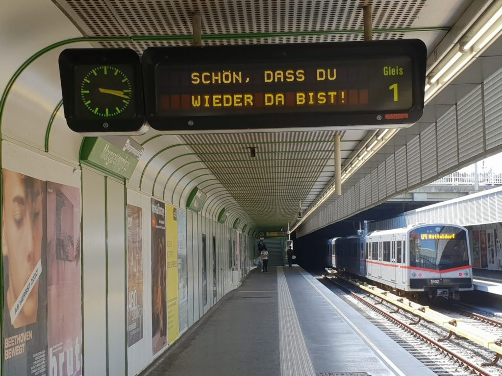 U4 Station Margaretengürtel