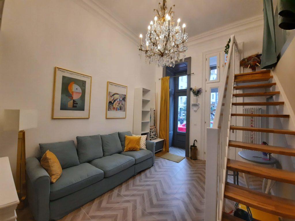 Blick ins Wohnzimmer - Mauthaus-Schönbrunn - Ferienappartement